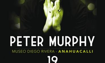 Peter Murphy en el Museo Anahuacalli