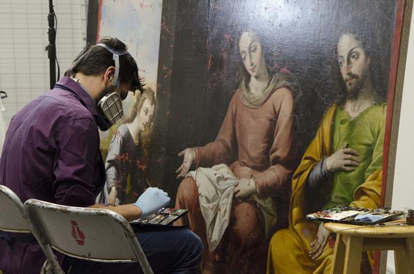 Conoce el fascinante mundo de la restauración en San Ildefonso