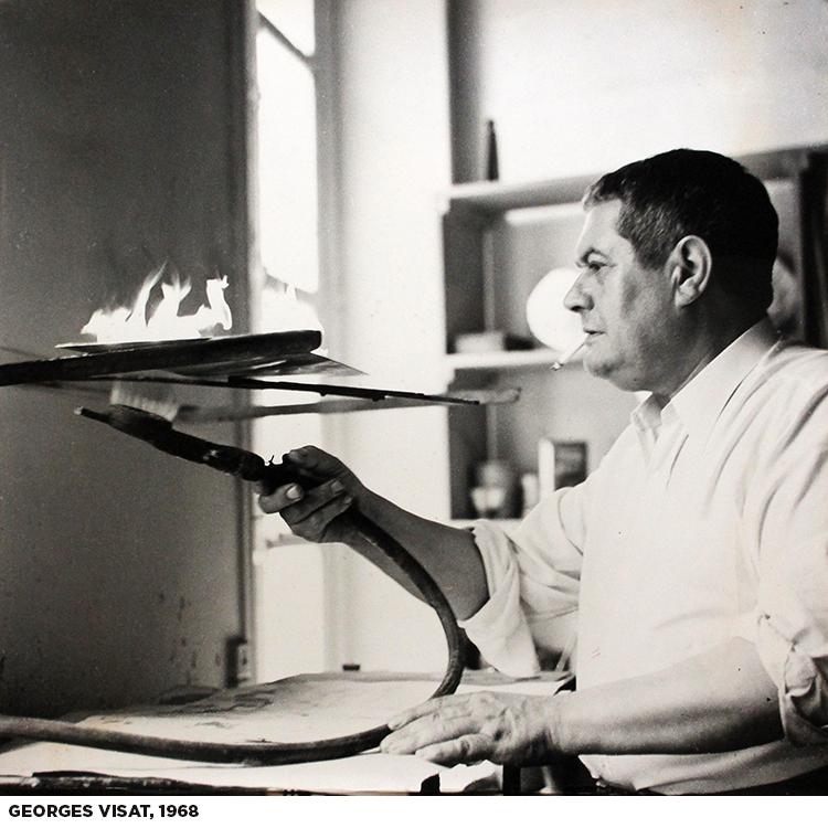 El ojo surrealista de Georges Visat, en el Museo Nacional de la Estampa