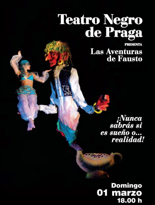 El Teatro Negro de Praga regresa a México