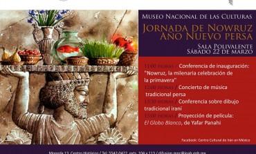 Celebra el nuevo año persa en el Museo Nacional de las Culturas