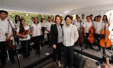 La música, y el arte y la cultura son la luz de posibilidades de cambio positivo para México: Alondra de la Parra
