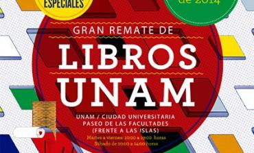 Encuentra libros desde $10 pesos en el Gran Remate de la UNAM