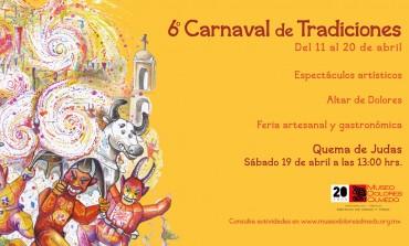 ¿Qué hacer en Semana Santa? Disfruta del Carnaval de Tradiciones en el Museo Dolores Olmedo