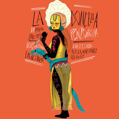 La doncella ponzoñosa llega a encantar al público del Teatro Julio Castillo