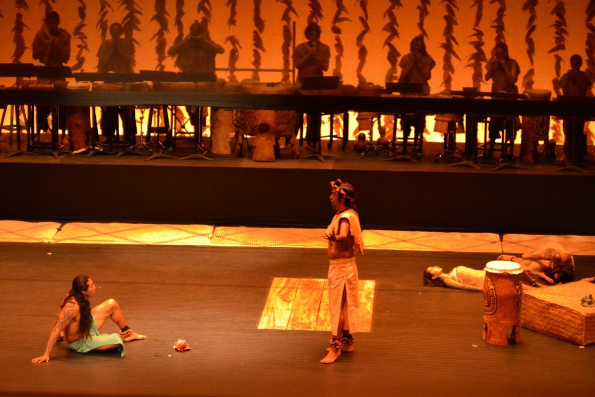 Hoy estrena Xochicuicatl cuecuechtli, la primera ópera en náhuatl que aborda el erotismo del mundo mexica