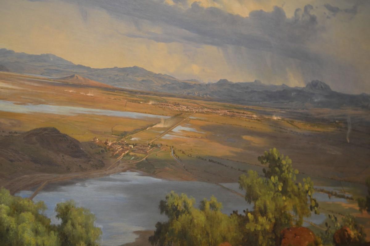 ¿Harto del mismo escenario? Ve al Munal y piérdete en los paisajes de José María Velasco.