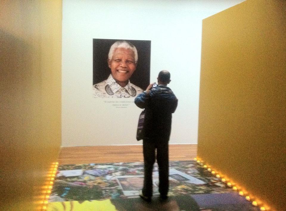 Mandela en el Museo Memoria y Tolerancia