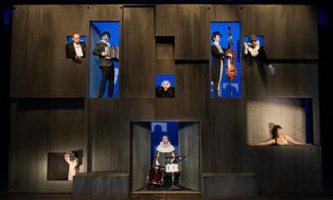 ¡Este Hamlet es muy bizarro! Una excéntrica versión con la música de The Tiger Lillies en @Cervantino