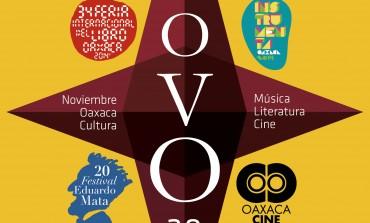 En noviembre, ¡Oaxaca es el lugar! Cuatro festivales llenarán de libros, música y cine al estado