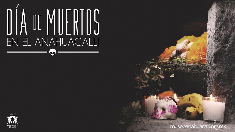 ¡Una gran fiesta! No puedes perderte la celebración del #DíaDeMuertos en el @Anahuacalli