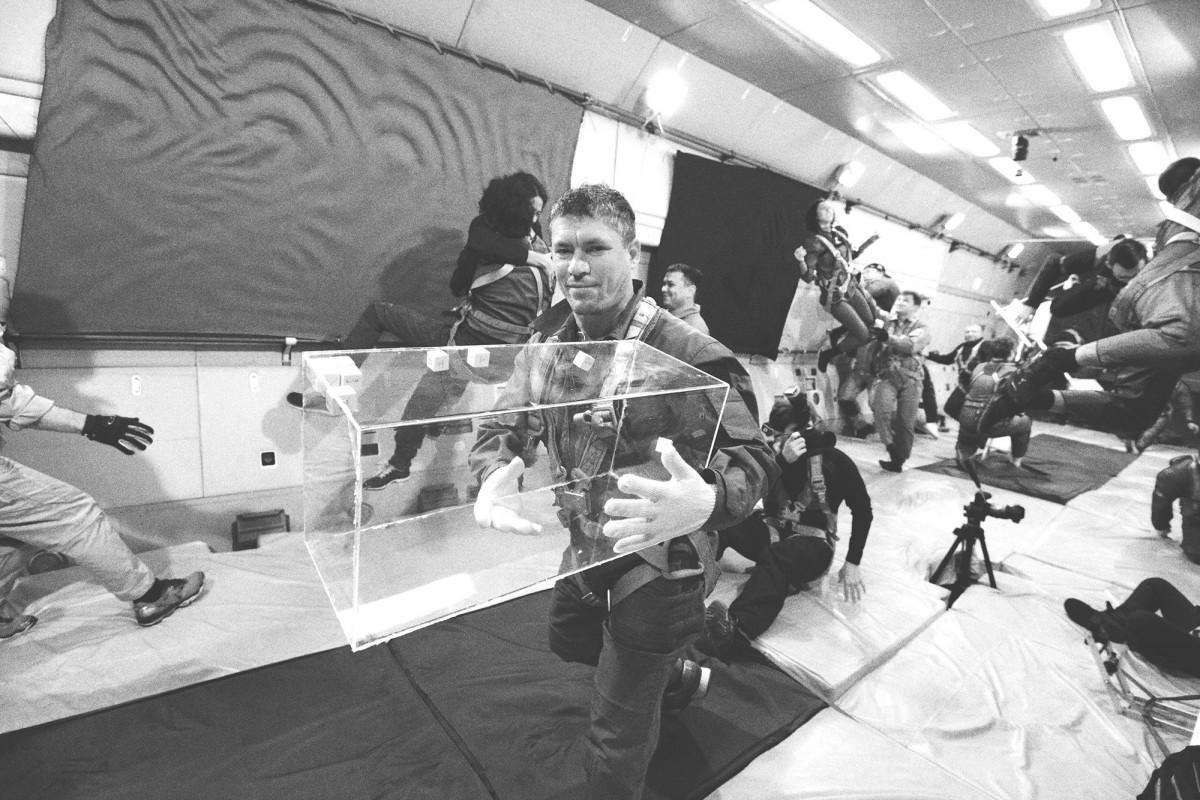 ¿Qué pasa cuando se crea arte en el espacio? Hoy lo sabrás en @artealameda