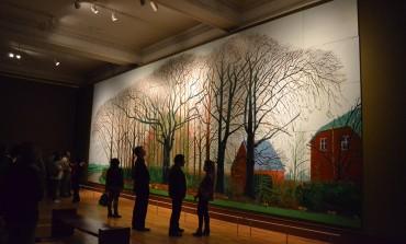¡Piérdete en el bosque! Pero en el que pintó Hockney y que estará en el @MUNALmx
