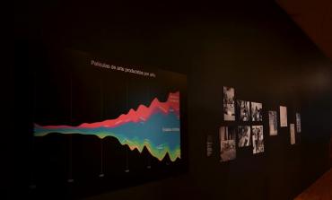 El cine y la pintura juntos en Cineplástica, del @museoAModernoMX