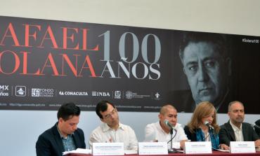 Homenaje en su centenario al escritor que pasó por todos los géneros literarios: Rafael Solana