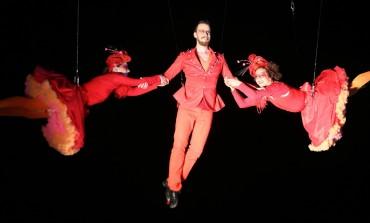 ¡El circo está en el aire! No te pierdas a Fidget Feet en el @cervantino