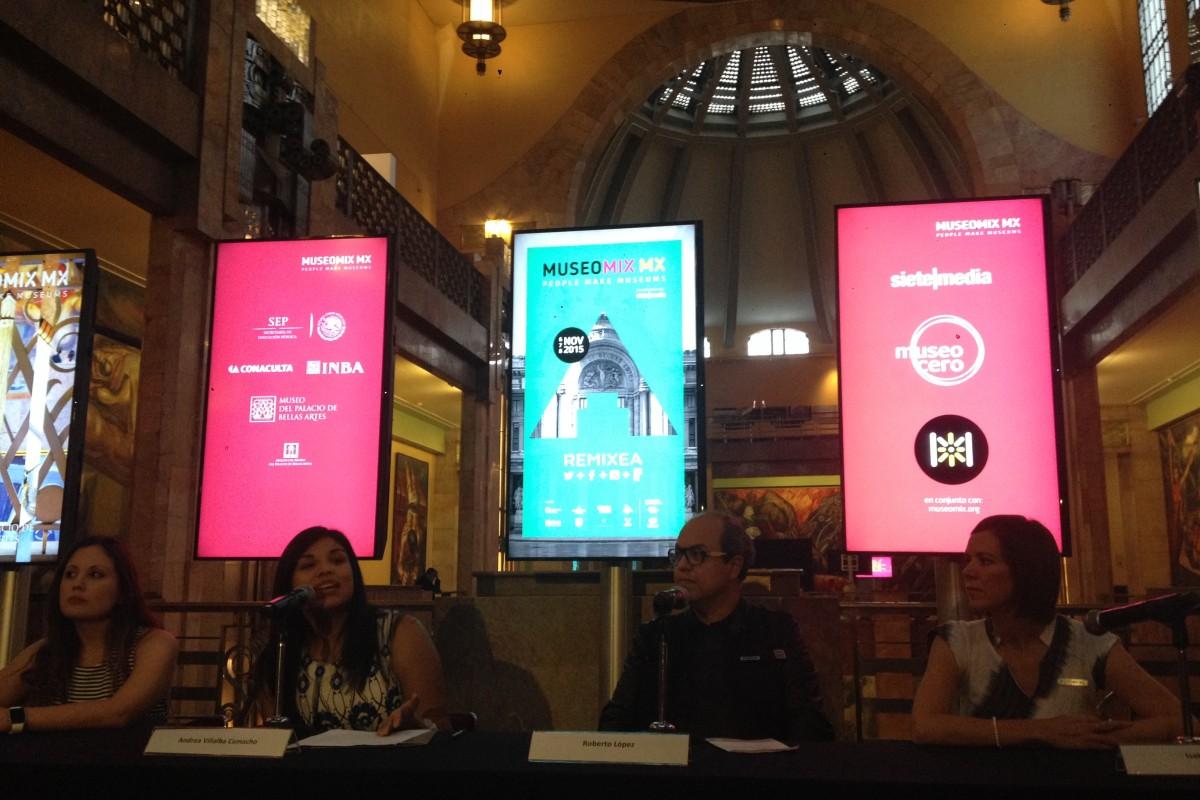 ¿Cómo se remixea un museo? Pronto @Museomixmx en el Palacio de Bellas Artes