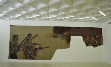 Pinturas de guerra de Leon Golub, en el Museo Tamayo