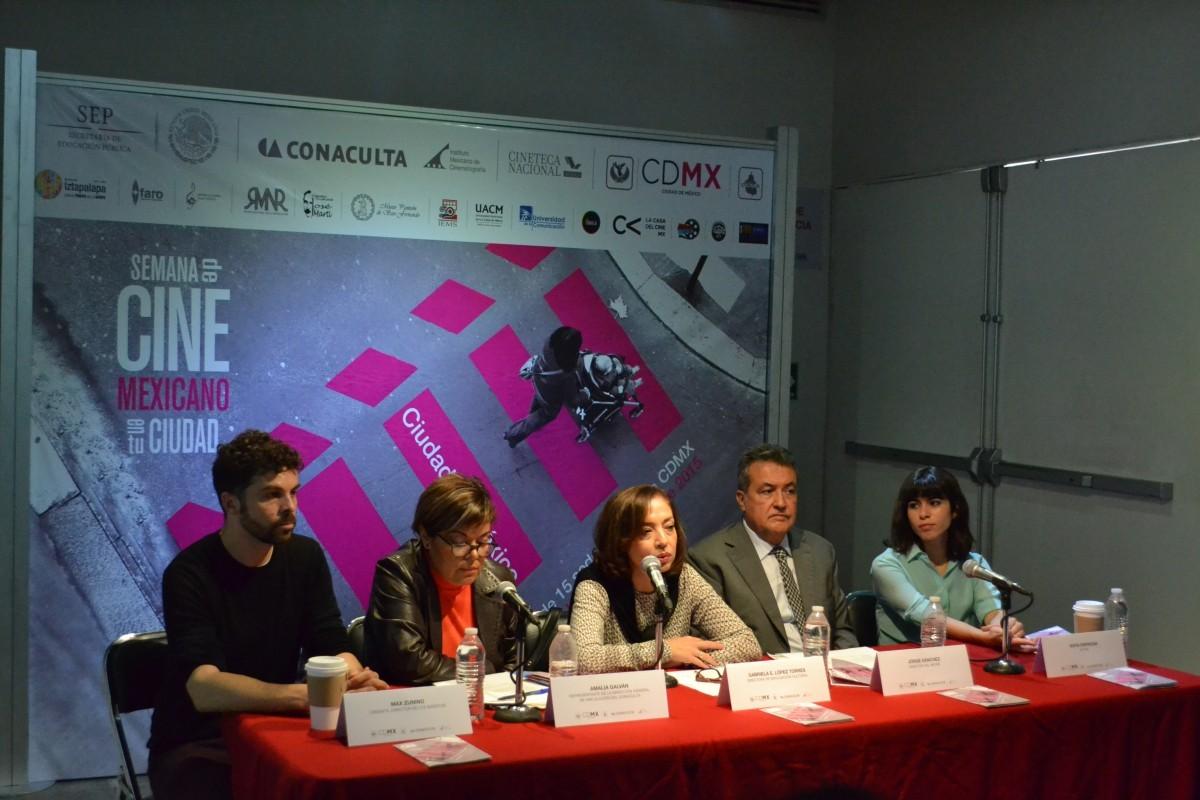 Descubre el cine mexicano emergente, en la Semana de Cine Mexicano en tu Ciudad