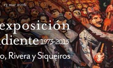42 años después, llegan Rivera, Orozco y Siqueiros a Chile
