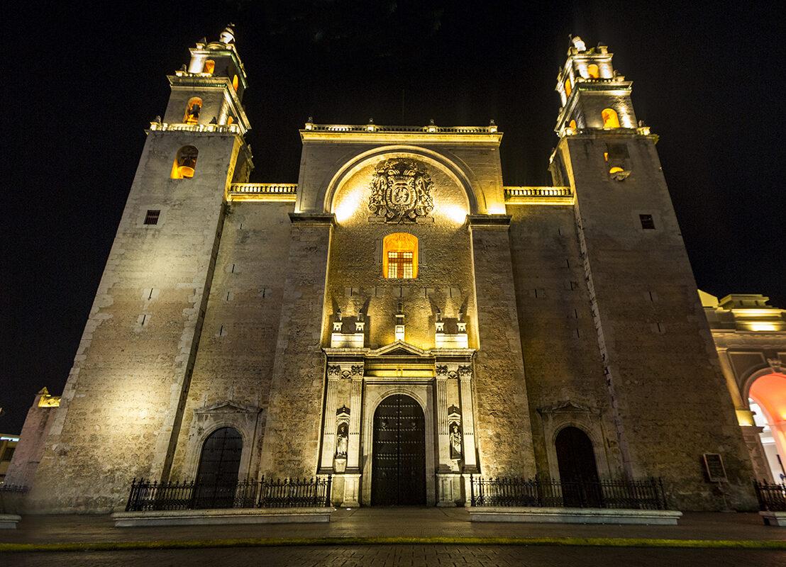 ¡Una noche blanca! Mérida se viste de blanco este 12 de diciembre