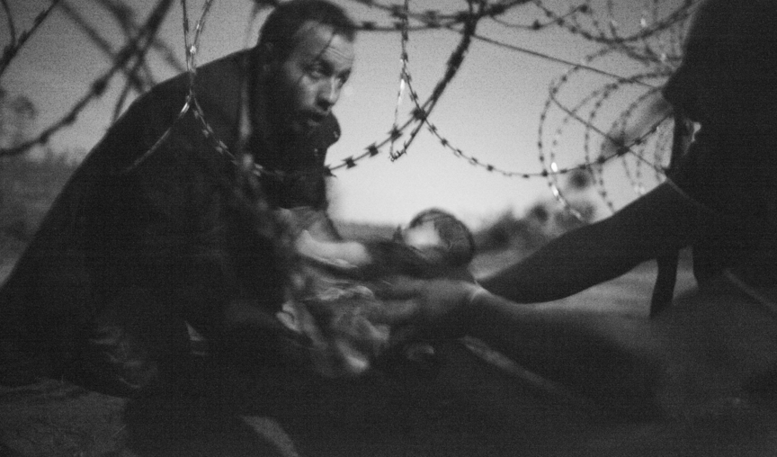 Imagen de refugiados gana el World Press Photo