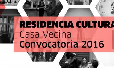 ¿Te gustaría hacer una Residencia Cultural en Casa Vecina?