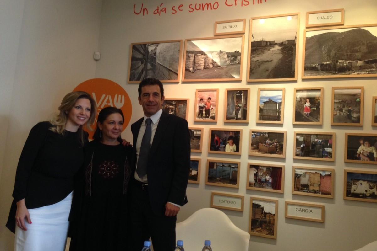 Cristina Kahlo invita a llenar los platos vacíos