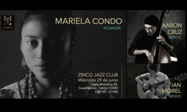 El folclor ecuatoriano de Mariela Condo, en el Zinco Jazz Club