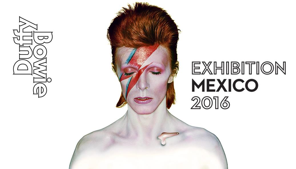 Las icónicas fotos de David Bowie capturadas por Brian Duffy se exhiben en México