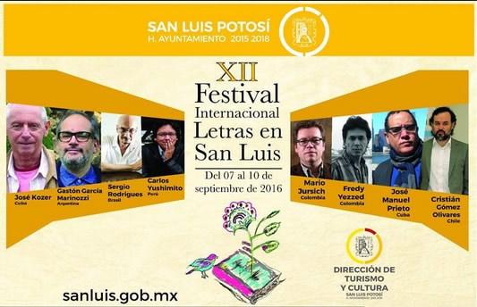 5% del presupuesto total del Festival de Letras de SLP está destinado a un solo autor