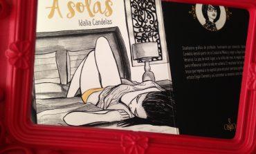 """""""A Solas"""", es lo mejor que le ha pasado a la ilustradora Idalia Candelas"""