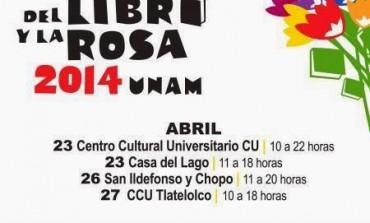 Octavio Paz, José Emilio Pacheco, Juan Gelman y Julio Cortázar conmemorados en la Fiesta del Libro y la Rosa 2014