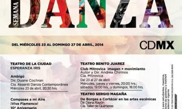 Disfruta de la Semana de la Danza en cuatro teatros de la Ciudad de México