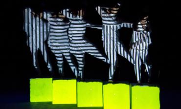 Hoy en el @cervantino seremos testigos del baile de la luz al ritmo de los cuerpos de Rhizomatiks