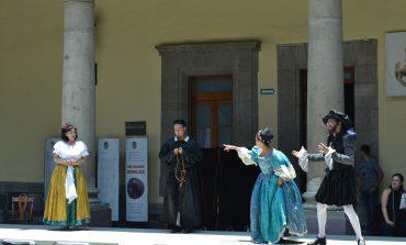 Sé parte de un festejo virreinal en conmemoración a Cervantes