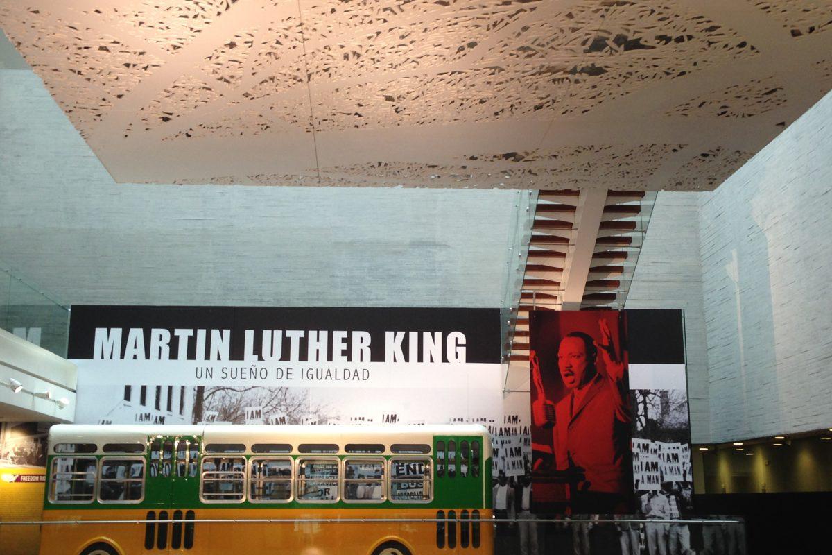 Un homenaje a la lucha contra el racismo: Martin Luther King en Museo Memoria y Tolerancia