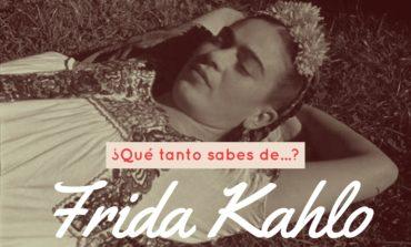 ¿Qué tanto sabes de Frida Kahlo?